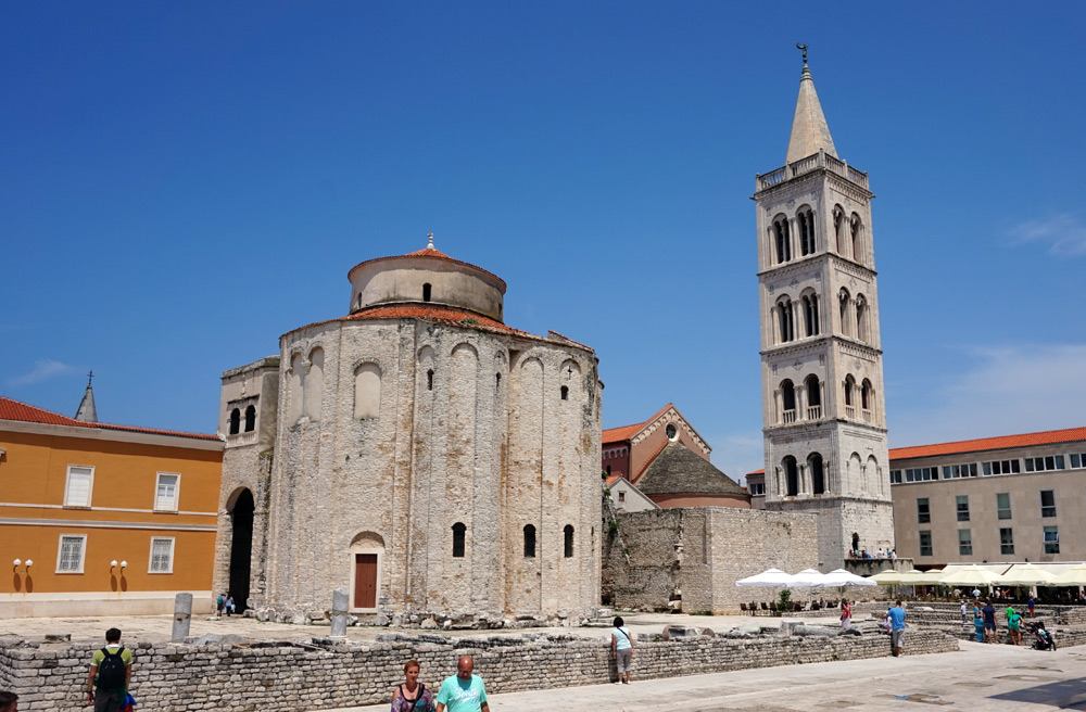 Römisches Forum in Zadar